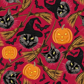 witch's  cat-large