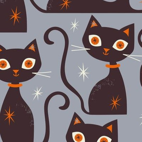 Cats Large Scale Grey