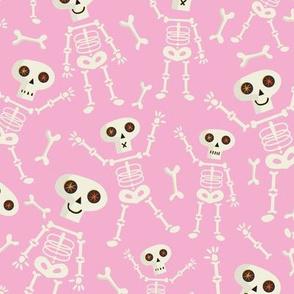 Skeleton regular scale Pink