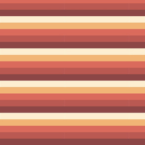 60s Sunset Stripes