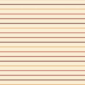 Thin stripes 60s stripes over yellow