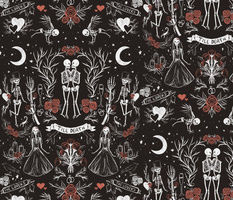 'Till Death Do Us Part - Red - Gothic Halloween