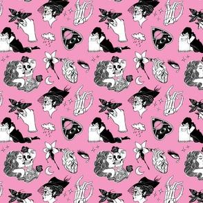 Gothic Romance: 'Til Death (Pink)