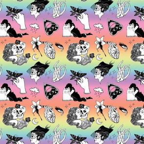 Gothic Romance: 'Til Death (Pastel Rainbow)