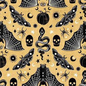 Gothic Halloween Honey Gold by Angel Gerardo
