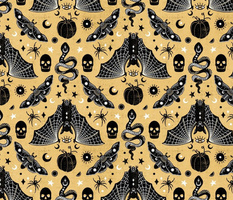 Gothic Halloween Honey Gold by Angel Gerardo