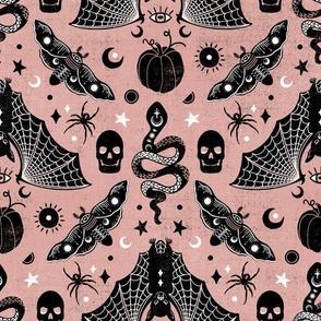 Gothic Halloween Rose Pink by Angel Gerardo
