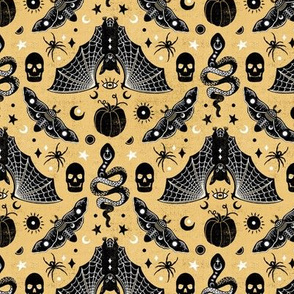 Gothic Halloween Honey Gold by Angel Gerardo - Small Scale
