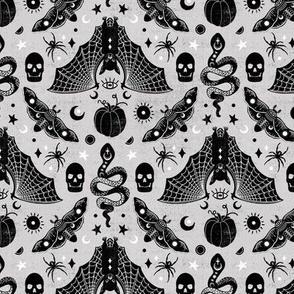 Gothic Halloween Gray Grey by Angel Gerardo - Small Scale