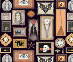 Gothic Mansion Wall of Frames