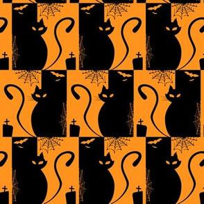 cats - edgar cat - halloween cats