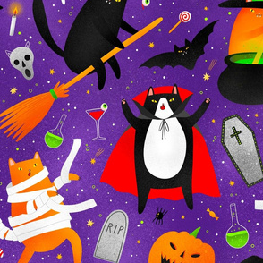 Large scale / halloween cats