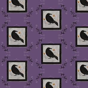 The Raven - purple