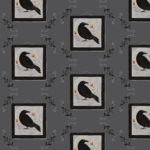 The Raven - dark gray