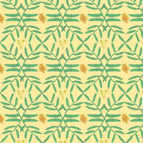 Marigold Leafy Vines Med scale