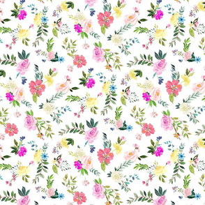 Delicate Watercolor Floral