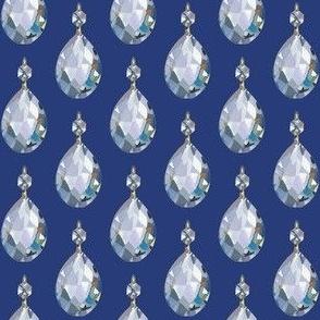 Crystal Blue Persuasion on Dark Blue, small