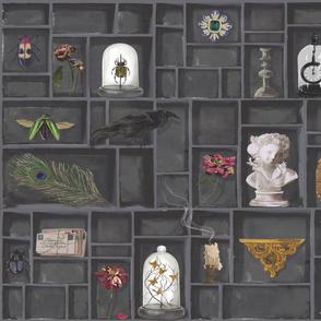 Gothic Cabinet of Curiosities