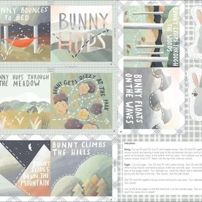 Bunny Hops Soft Book