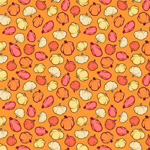 Small Print Pumpkin Toss
