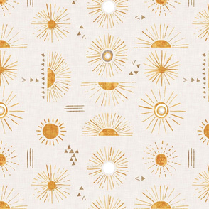 Sun Rays (cream) LRG