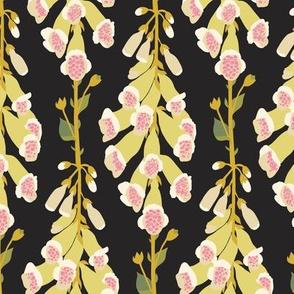 Foxgloves Black-Yellow