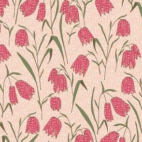 Fritillaria Flower Blush-Pink