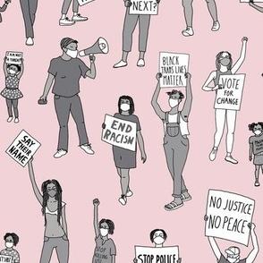 Black Lives Matter (pink)