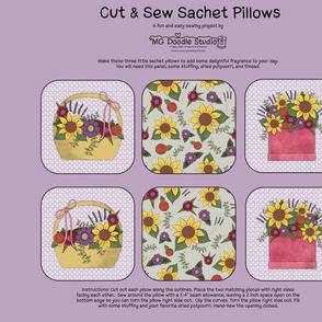 Cut & Sew Sachet Pillows