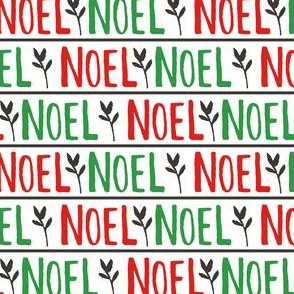 Hand Lettered Noel