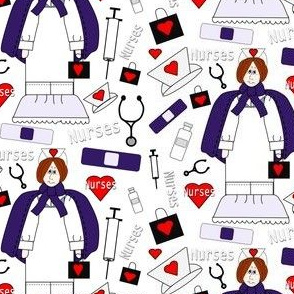 Nurses Fabric New