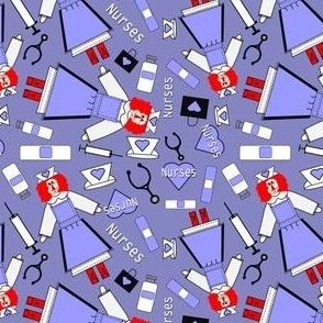 Nurses Fabric 3 Border New