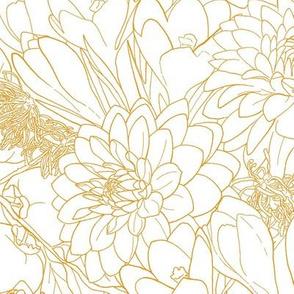 Autumn Bouquet - Golden
