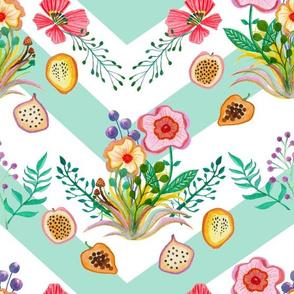 Wildflowers & Fruit Mint