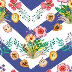 Wildflowers & Fruit Blueberry