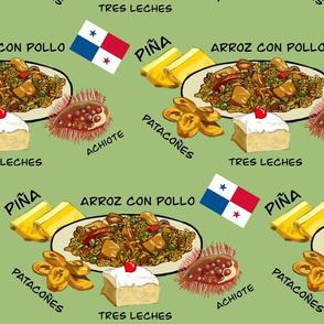 Panamanian Food Mint Large