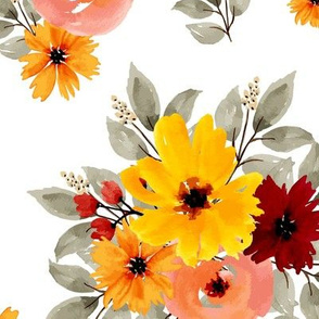 Fall Floral 24x24 Xtra Large
