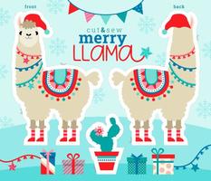 merry llama!