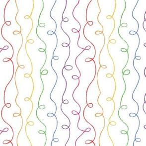 Rainbow Doodles - Medium