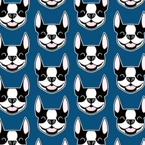 Smiling Bostons - Boston Terrier fabric