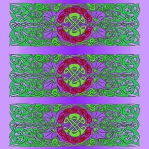 Celtic Dragon Spike 2 Green & Purple