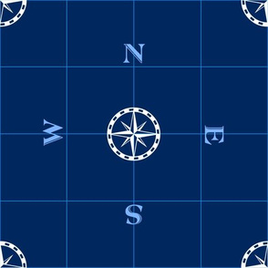 Nautical Regatta Compass