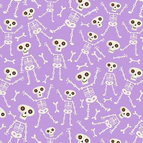 Skeleton small scale Lilac
