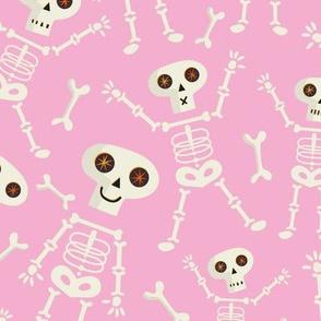 Skeleton Large Scale Pink