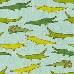 Crocodiles {Cloudy Blue} medium