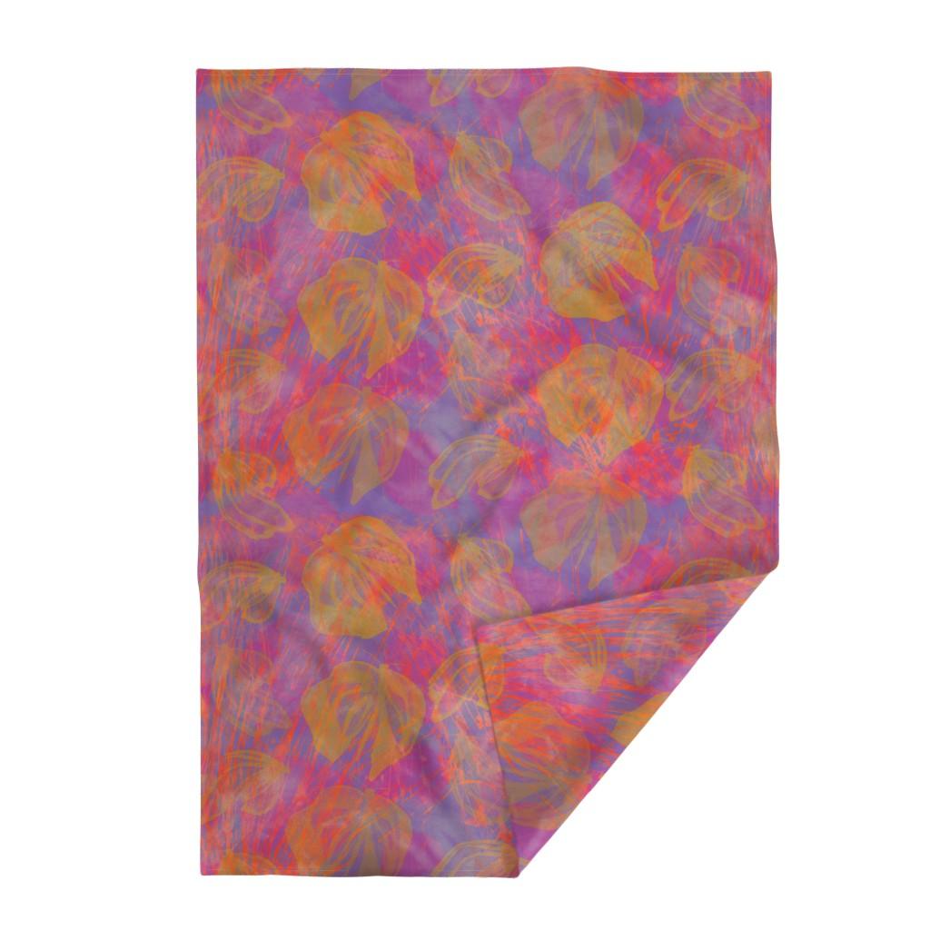 Lakenvelder Throw Blanket featuring Butterflies  Lavender Pink by dorothyfaganartist