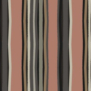 stripes of fall/clay