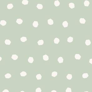 Mint Green Polka Dots