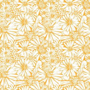 Gold daisies