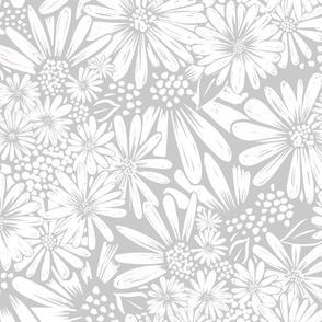 Daisies Gray